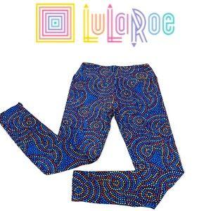 LuLaRoe Circles & Dots Geometric Print Leggings OS - One Size Fits Most